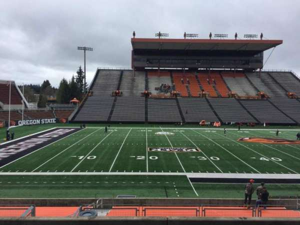 Reser Stadium, section: 118, row: 20, seat: 12