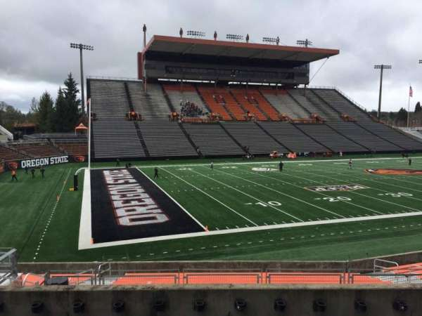 Reser Stadium, section: 120, row: 20, seat: 15