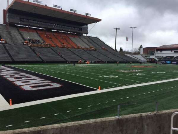 Reser Stadium, section: 121, row: 5, seat: 5