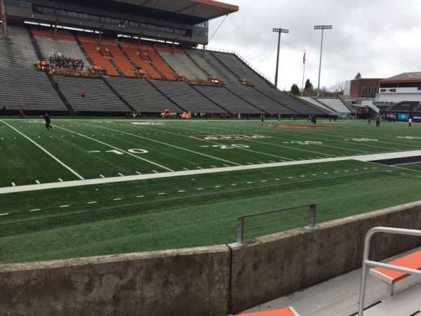Reser Stadium, section: 120, row: 5, seat: 5