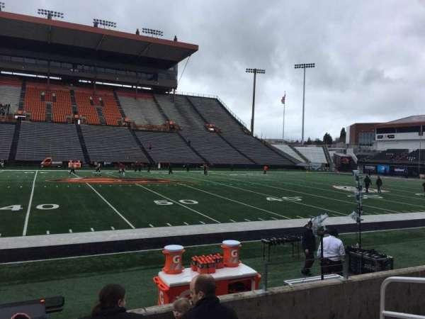 Reser Stadium, section: 117, row: 5, seat: 5