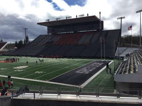 Reser Stadium, section: 111, row: 20, seat: 18