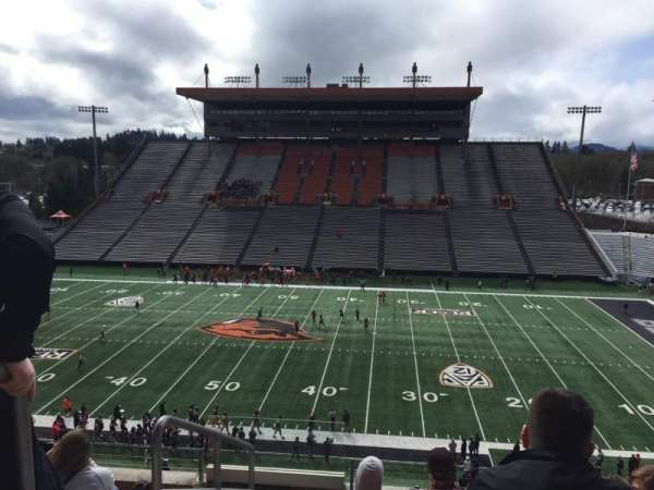 Reser Stadium, section: 217, row: 6, seat: 20