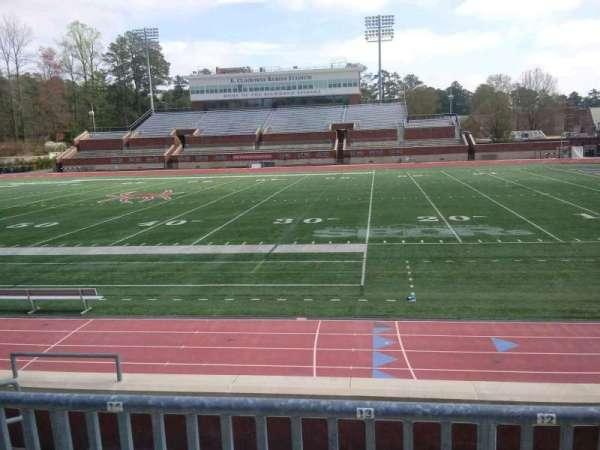 Robins Stadium, section: 103, row: E, seat: 13