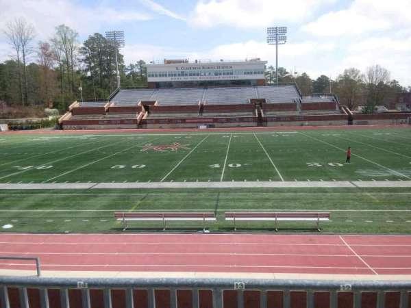 Robins Stadium, section: 104, row: E, seat: 13