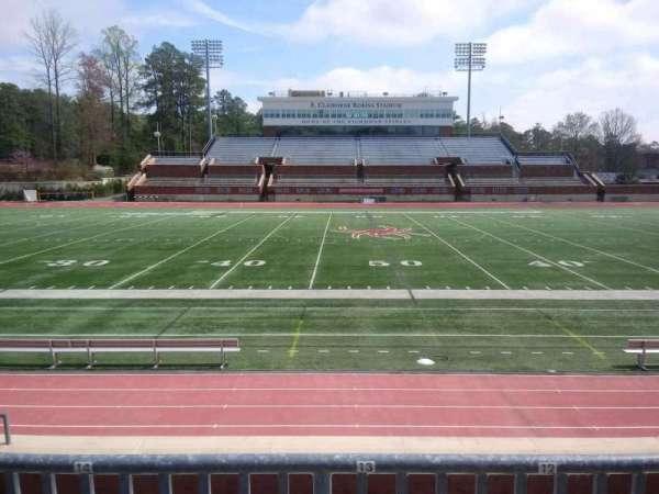 Robins Stadium, section: 105, row: E, seat: 13