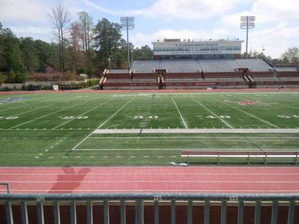 Robins Stadium, section: 106, row: E, seat: 13