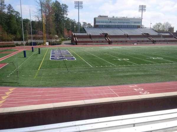 Robins Stadium, section: 109, row: F, seat: 13