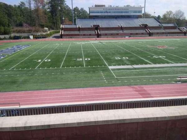 Robins Stadium, section: 207, row: D, seat: 10