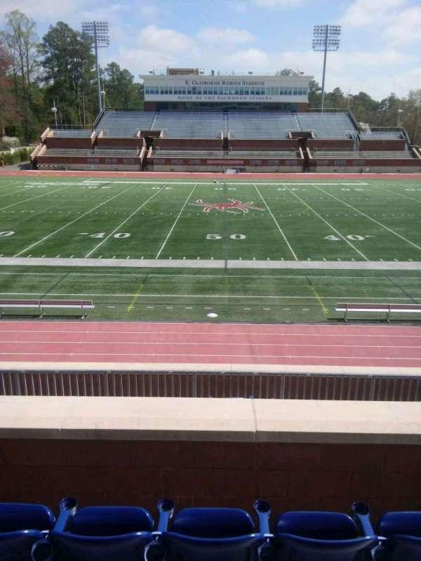 Robins Stadium, section: 205, row: d, seat: 10