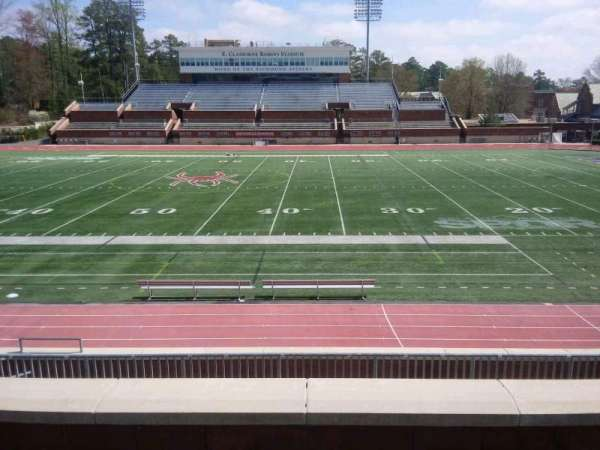 Robins Stadium, section: 204, row: D, seat: 9