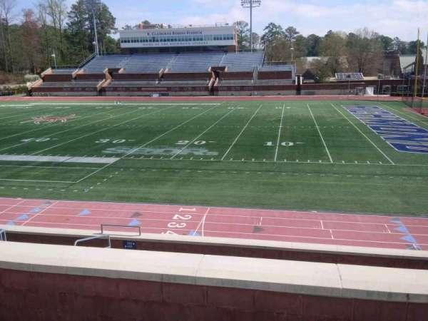 Robins Stadium, section: 202, row: D, seat: 14