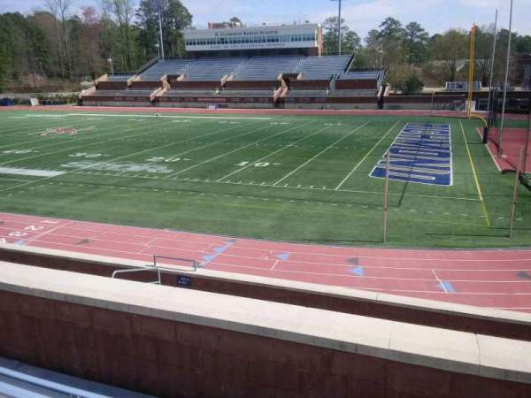 Robins Stadium, section: 201, row: D, seat: 6