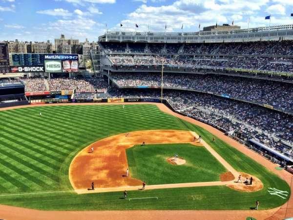 Yankee Stadium, section: 425, row: 2, seat: 1