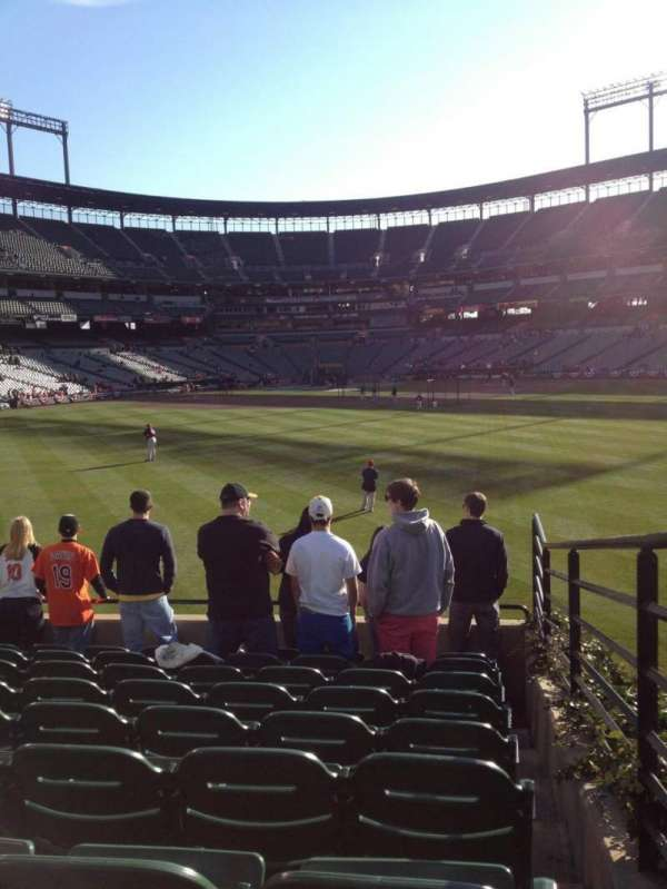 Oriole Park at Camden Yards, section: 90, row: 9, seat: 1