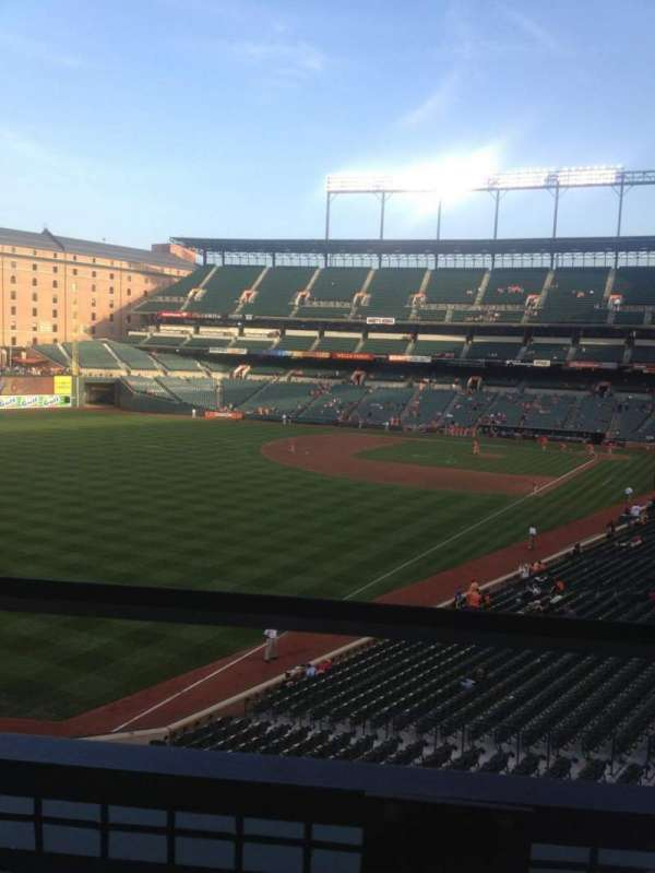 Oriole Park at Camden Yards, section: 272, row: 1, seat: 7