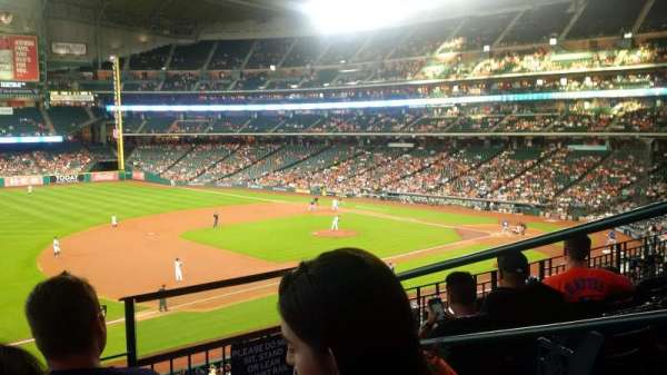 Minute Maid Park, section: 209, row: 4, seat: 14