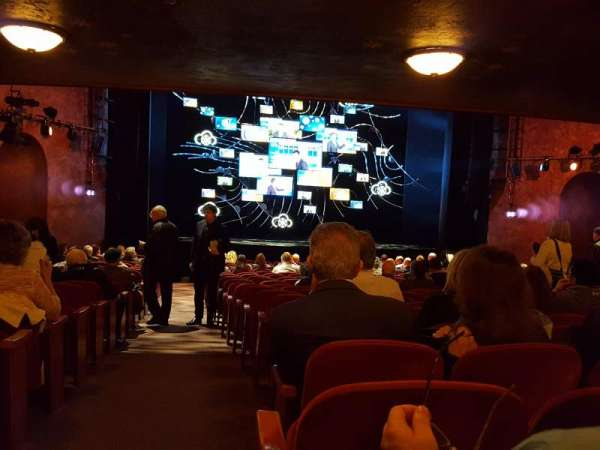 August Wilson Theatre, section: Orchestra C, row: W, seat: 118