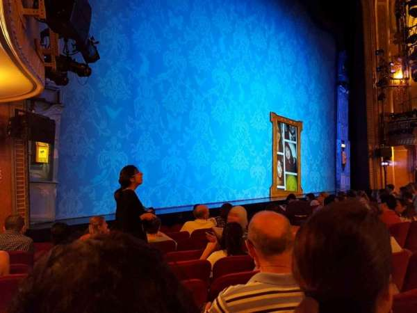 Walter Kerr Theatre, section: Orchestra L, row: K, seat: 17