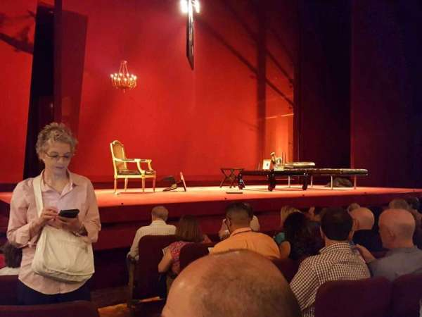 Ethel Barrymore Theatre, section: Orchestra L, row: E, seat: 3