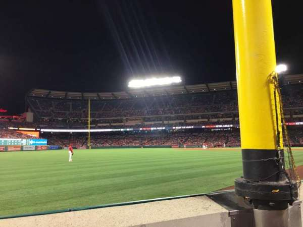 Angel Stadium, section: F103, row: A, seat: 5