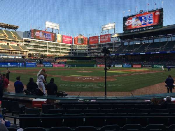 Globe Life Park in Arlington, section: 25, row: 5, seat: 8