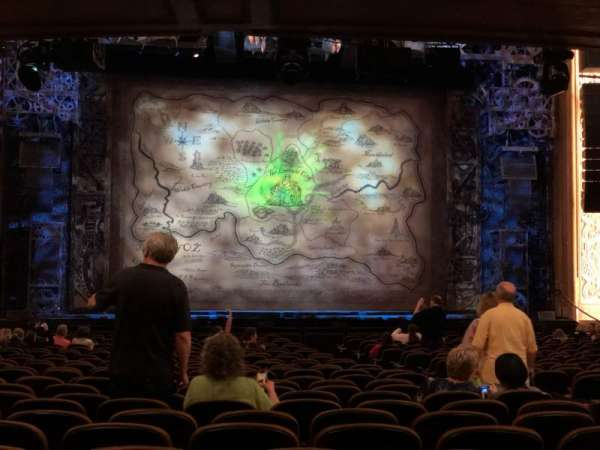 Paramount Theatre (Seattle), section: Main Floor 3, row: Bb, seat: 5