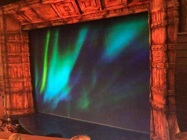 St. James Theatre, section: Mezzanine R, row: D, seat: 20