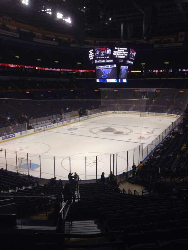 Enterprise Center, section: 120, row: EE, seat: 15