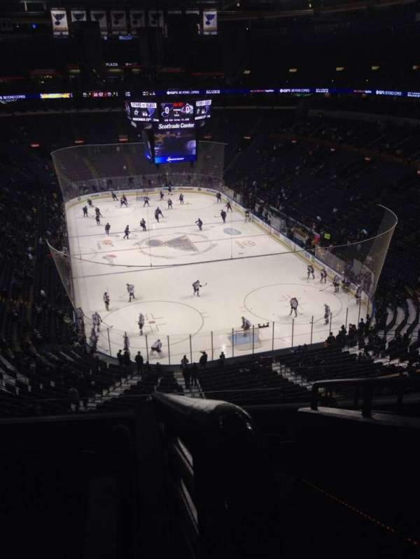 Enterprise Center, section: 313, row: G, seat: 1