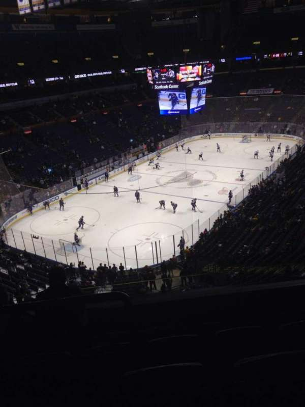 Enterprise Center, section: 325, row: E, seat: 13