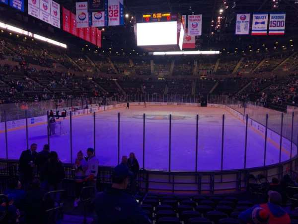 Nassau Veterans Memorial Coliseum, section: 109, row: 1, seat: 9