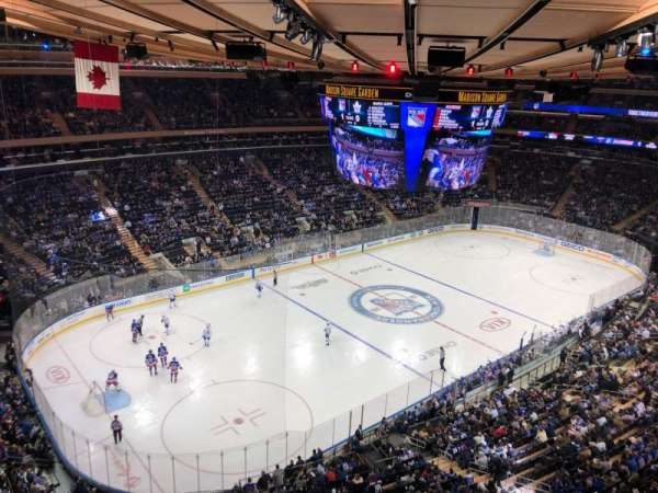Madison Square Garden, section: 310, row: 1, seat: 1
