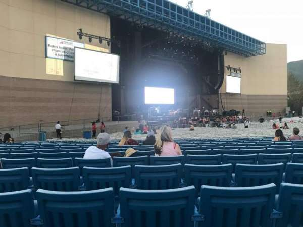 Glen Helen Amphitheater, section: Orchestra, row: JJ, seat: 39