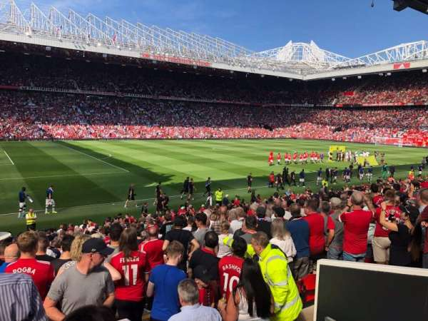 Old Trafford, section: STH121, row: 17, seat: 237