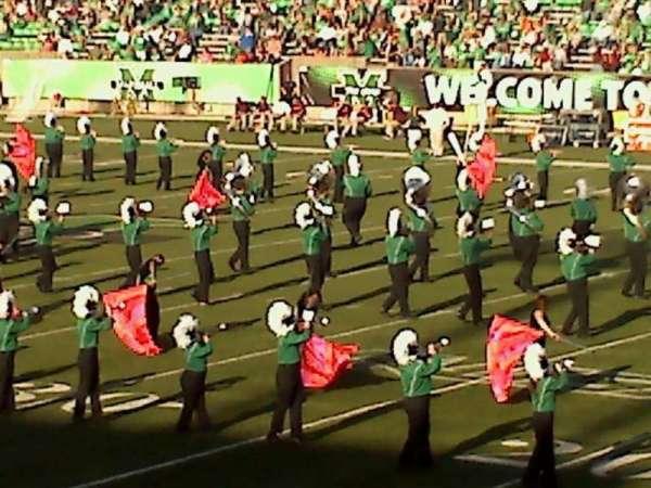 Joan C. Edwards Stadium, section: 124, row: 21, seat: 102