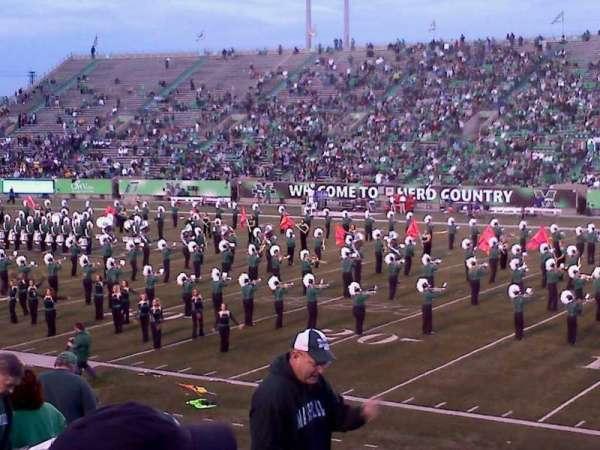 Joan C. Edwards Stadium, section: 124, row: 21, seat: 101