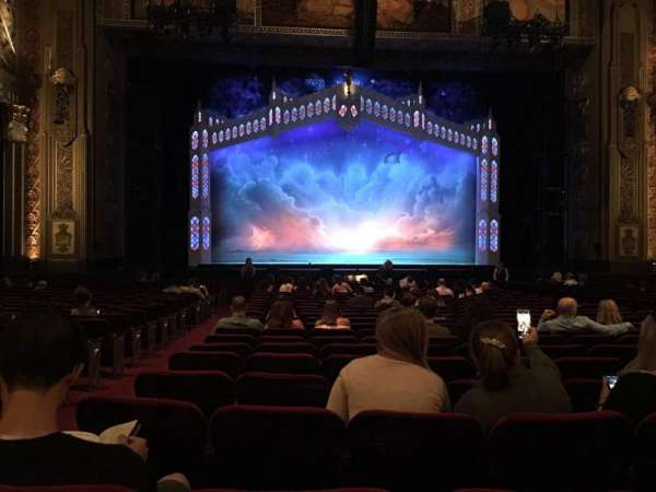 Hollywood Pantages Theatre, section: Orchestra C, row: X, seat: 112