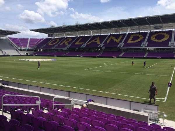 Orlando City Stadium, section: 10, row: K, seat: 1