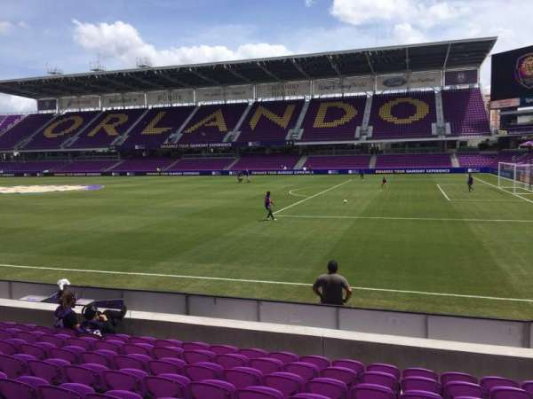 Orlando City Stadium, section: 11, row: J, seat: 7