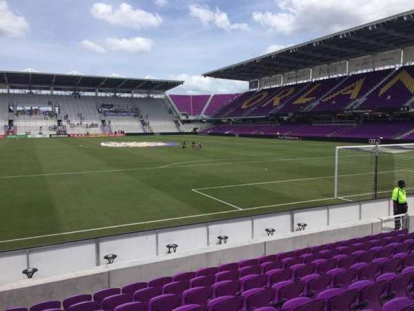 Exploria Stadium, section: 5, row: K, seat: 18