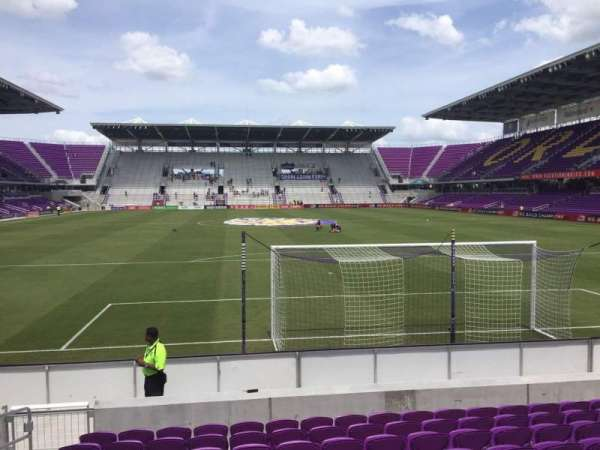 Exploria Stadium, section: 4, row: K, seat: 23