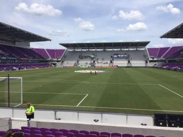 Exploria Stadium, section: 3, row: K, seat: 16
