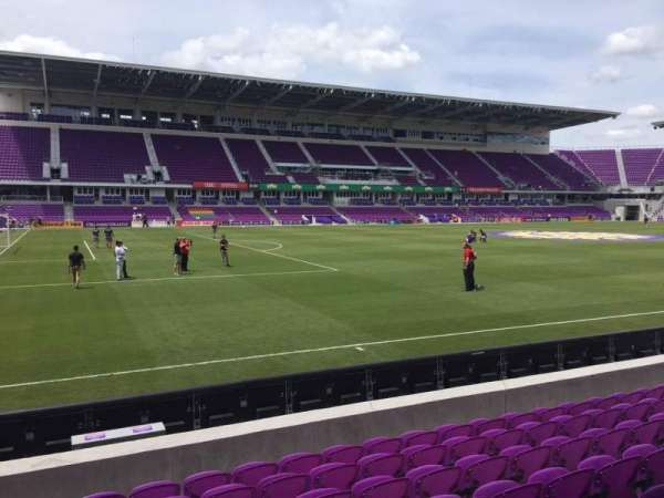 Exploria Stadium, section: 37, row: H, seat: 23