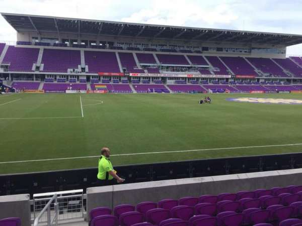 Exploria Stadium, section: 36, row: H, seat: 26