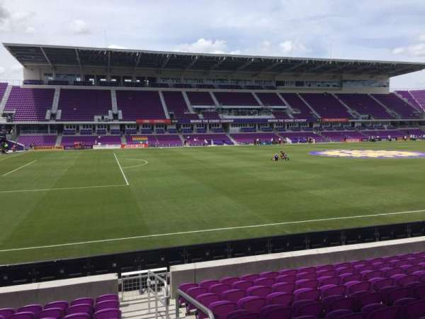 Exploria Stadium, section: 37, row: L, seat: 1