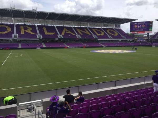 Exploria Stadium, section: 19, row: J, seat: 1