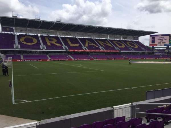 Exploria Stadium, section: 20, row: G, seat: 10