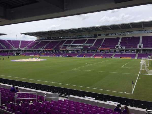 Exploria Stadium, section: 30, row: M, seat: 2