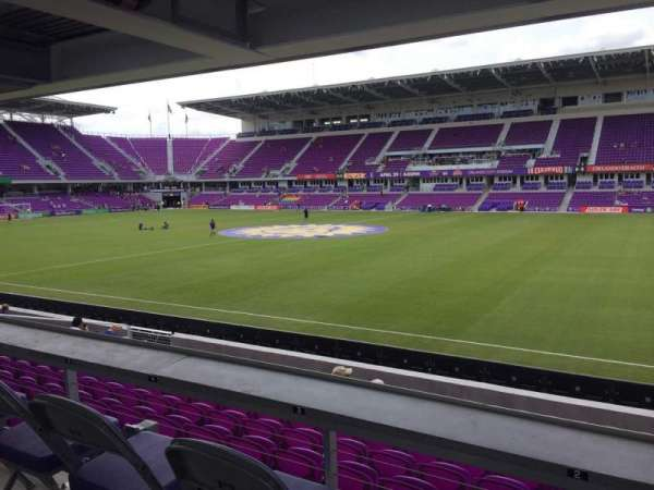 Exploria Stadium, section: 32, row: M, seat: 02